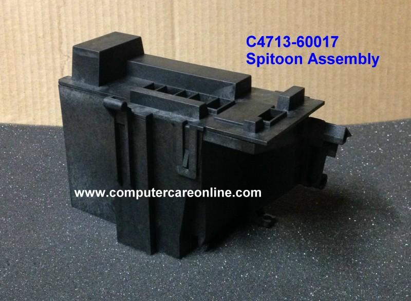 C4713-60017 DesignJet 430 / 455 / 488 Spitoon Assembly