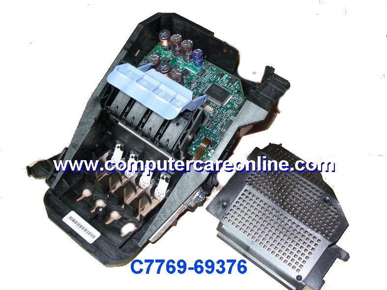 C7769-60376 DesignJet 500 / 800 Print head carriage assembly