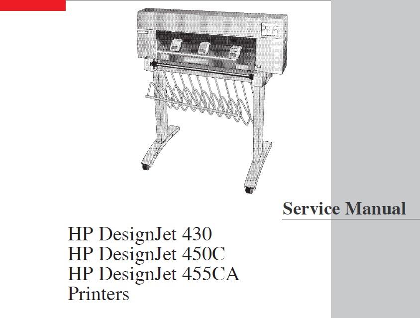 designjet 430 450c 455ca plotter service manual download rh computercareonline com hp designjet 430 user guide hp designjet 450c user manual