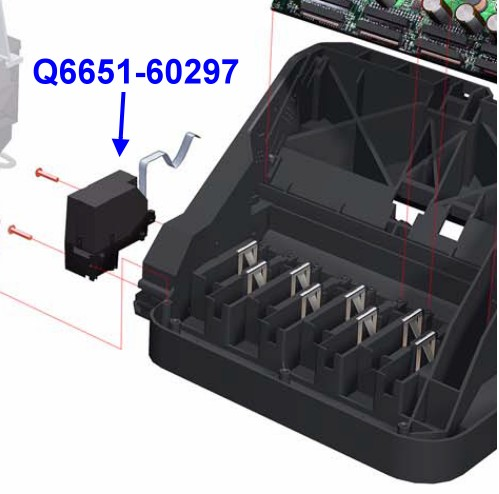 Q6651-60297 DesignJet Z6100 Line Sensor