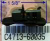 C4713-60035 DesignJet Starwheel mount assembly