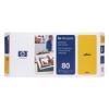 C4823A No. 80 DesignJet 1050C / 1055 CM Yellow Print Head and Cleaner
